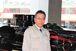 川崎重工業株式会社の車両カンパニ―について技術本部長にお話を伺いました。