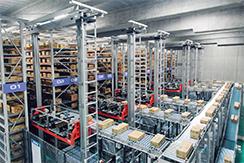 株式会社ダイフク滋賀事業所の「日に新た館」を見学させていただきました。