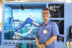 【関西ニッチトップメーカー特集】株式会社ナベルの鶏卵自動選別包装装置について、新社長・南部隆彦様にお話を伺いました。