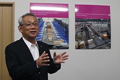 【関西ニッチトップメーカー特集】フィブイントラロジスティクス株式会社の自動仕分け搬送システムについて、代表取締役社長の松本孝裕様にお話を伺いました。