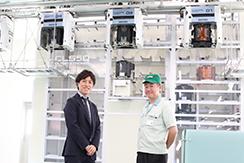 株式会社ダイフク・eFA事業部の組立・試運転業務の中途採用について、製造部長様にお話を伺いました。