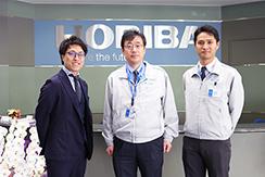 「おもしろおかしく」HORIBAグループの中途採用や社風について人事部長様にお話しを伺いました。