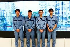 キャリア入社のエンジニア4人にインタビュー!!三菱電機エンジニアリング株式会社 姫路事業所で働く魅力とは