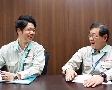 中途採用で川崎重工業株式会社のガスタービン・機械カンパニーに入社したエンジニアにインタビュー!②