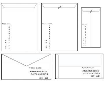 返信用封筒の書き方をシンプルに図解!【見本画像一覧】