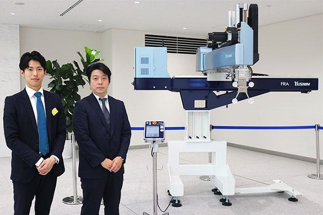 「ハイエンド製品取出ロボットFRA」展示エリア