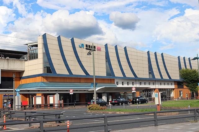 福知山駅風景