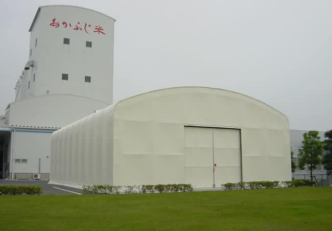 固定式テント倉庫FLEX HOUSE-FIX フレックスハウス