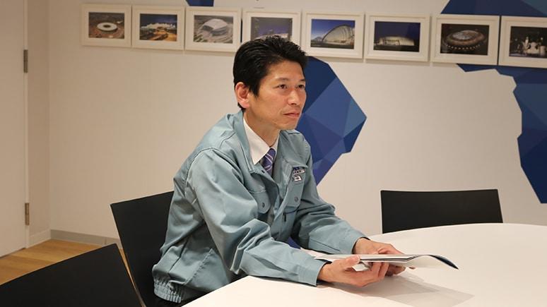 太陽工業株式会社 執行役員 建築事業統括本部 エンジニアリング本部長 田中雅義様