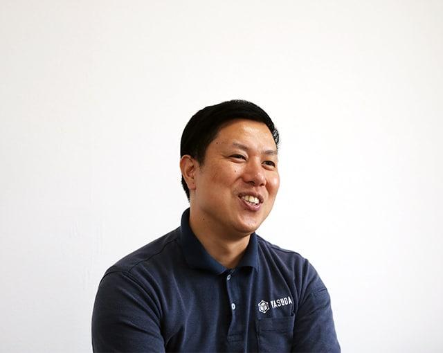 社風について語る安田精機製作所の営業部長